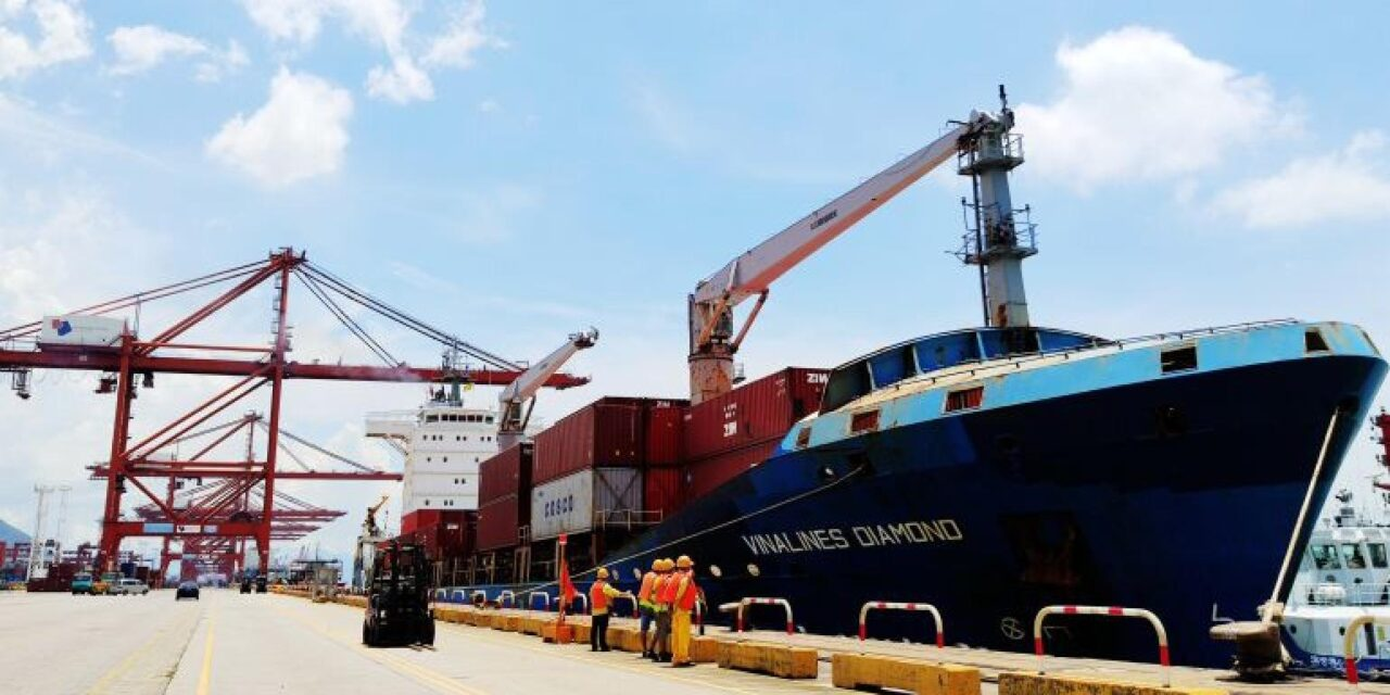 Las terminales de la bahía de DaChan comienzan un nuevo servicio intra-Asia que conecta con Vietnam