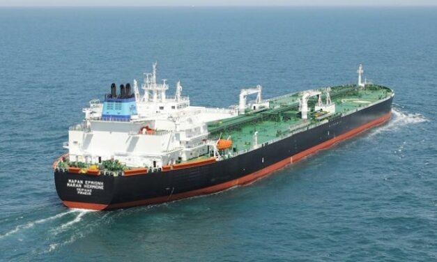 Maran Tankers recibe la entrega de un buque suezmax construido por Daehan Shipbuilding
