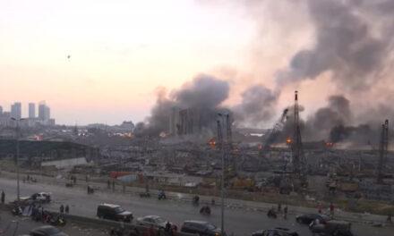 Masiva explosión destruye el puerto de Beirut