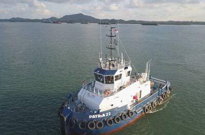 Nuevo remolcador entregado a PT Patria Maritime Lines
