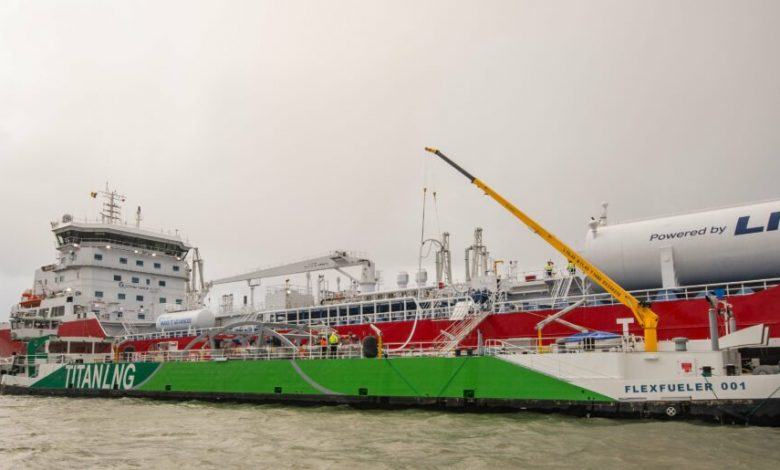 Titán expande la red de abastecimiento de GNL en Alemania