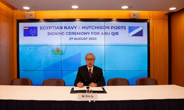 Hutchison Ports firma un acuerdo con la marina egipcia para una terminal de contenedores de 730 millones de dólares