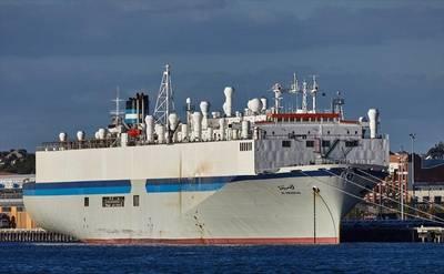 Australia evacua a la tripulación del buque ganadero afectado por el coronavirus