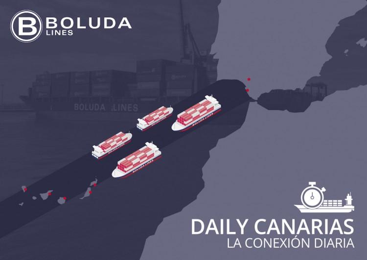 Boluda implanta un nuevo servicio diario Cádiz-Canarias