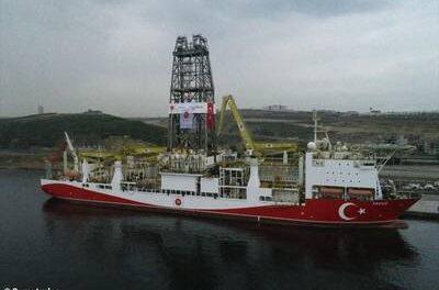 Buque de perforación turco regresa a Turquía después de operar en Chipre