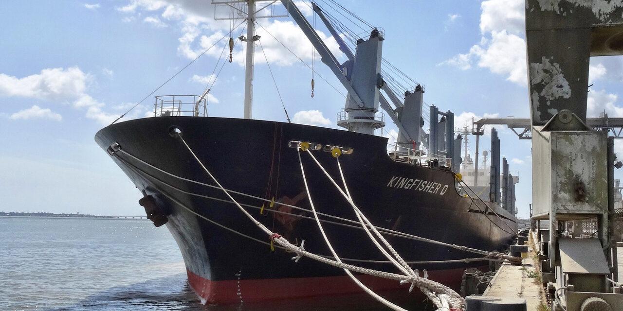Capitán de buque granelero murió al arribar a un puerto griego