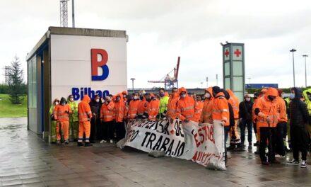 Competencia media en el conflicto de la estiba de Bilbao para frenar una nueva huelga