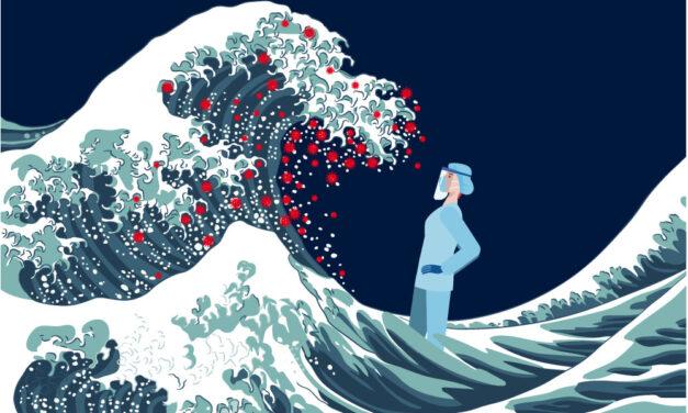 Covid-19: las olas que van y vienen