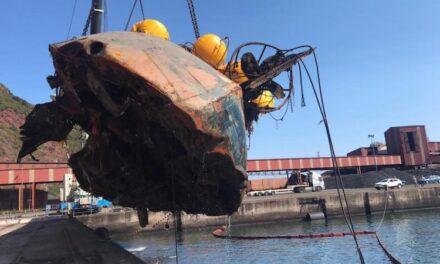 """DDR Vessels XXI desguaza la draga """"Barlovento Primero"""""""