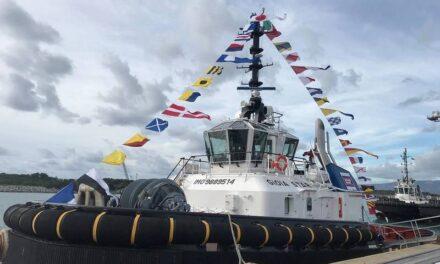 Damen Shipyards Group entrega un remolcador a Con.Tug en Italia