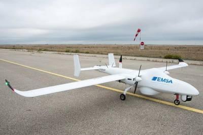 Drones desplegados para la vigilancia marítima frente a las costas de Francia