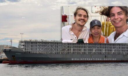 El Papa Francisco extiende la ayuda financiera a las familias de los tripulantes del buque ganadero que se hundio en el mar de china