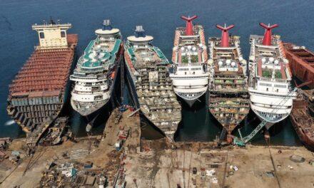 La industria de cruceros se enfrenta al momento del desguace