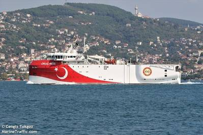 Las tensiones aumentan mientras Turquía vuelve a desplegar 'Oruc Reis' en el Mar Mediterráneo