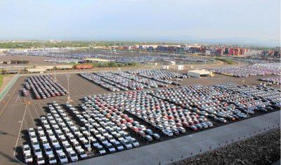 México: Puertos transfieren 33,5% menos vehículos a septiembre 2020