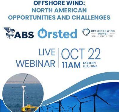 Offshore Wind Webinar: Oportunidades y desafíos en América del Norte