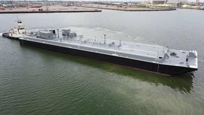 Southwest Shipyard hace entrega de una Tank Barge de 250 pies