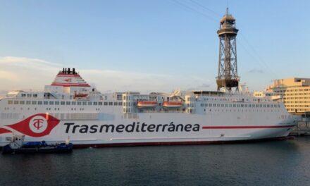 Trasmediterránea duplica la oferta en la línea Valencia-Palma
