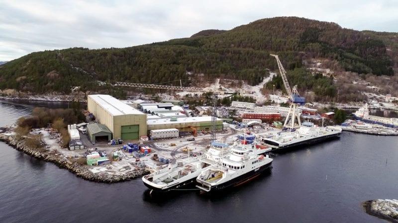 Un brote de virus detiene la construcción naval en Norwegian Yard