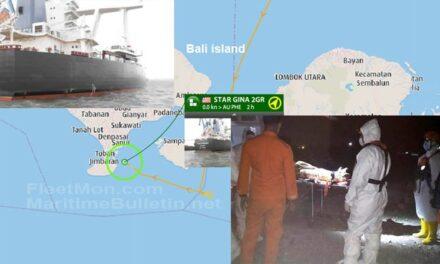 Un buque granelero Capesize interrumpió el viaje a Hedland para evacuar a su capitán filipino