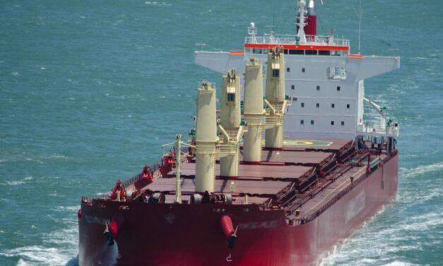 Tarifas de carga granelera WCSA al Lejano Oriente mantienen valores en segmentos Handysize, Supramax y Ultramax