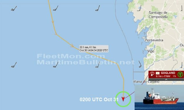 Capitán ruso murió a bordo de un buque tanquero durante el viaje
