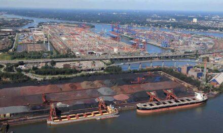 El rendimiento del puerto de Hamburgo muestra signos de recuperación; disminución del 8% en el tercer trimestre de 2020