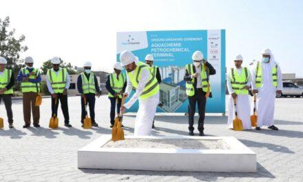 AquaChemie inicia la construcción de una terminal petroquímica en el puerto de Jebel Ali