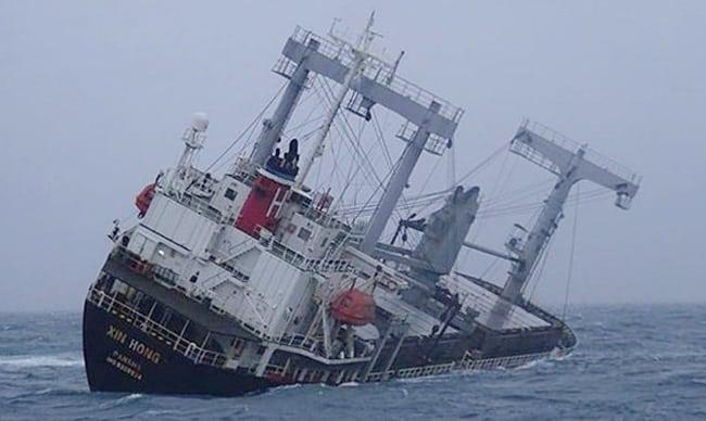 15 marineros desaparecidos después de que un buque de carga llegara al puerto de Vietnam