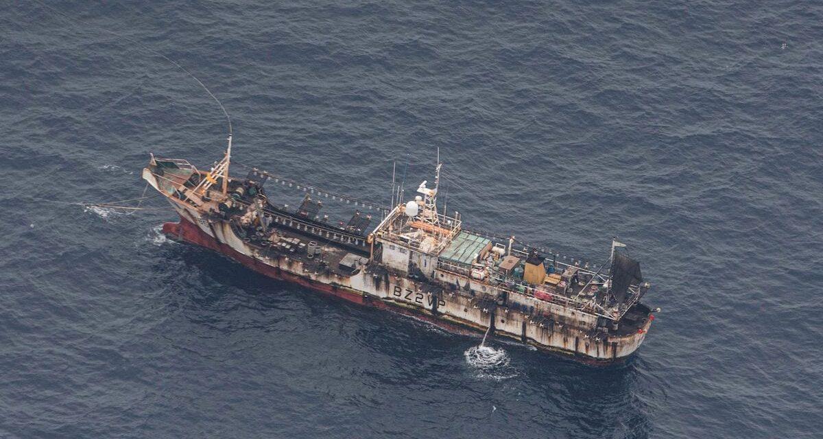 Los satélites utilizados para exponer los riesgos del trabajo forzoso en la pesca mundial