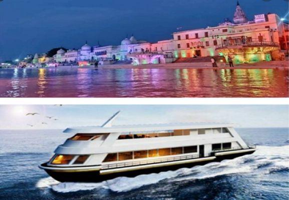 India: El primer servicio de cruceros lujosos de la nación estará en el río Saryu.