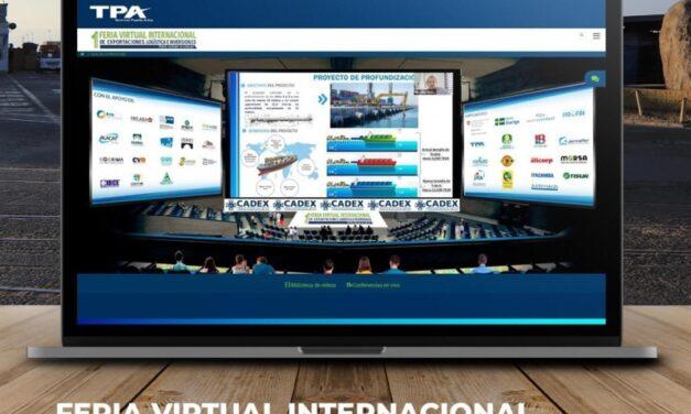 TPA participó en la primera Feria Virtual Internacional de Exportaciones, Logística e Inversiones