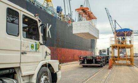 Puertos de Paraná de Brasil moviliza 55 millones de toneladas y bate una serie de récords anuales