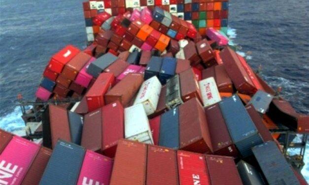 ONE: 64 contenedores perdidos por el «ONE Apus» transportaban cargas peligrosas
