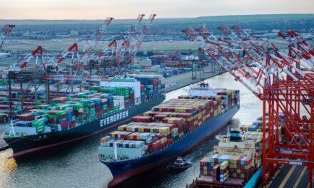Puertos de Nueva York y New Jersey incrementan 13,4% su volumen de TEUs en Octubre