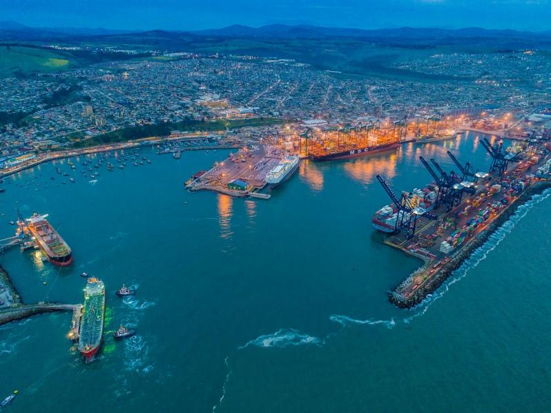 Puerto de San Antonio en Chile moviliza 124.731 TEUs y marca aumento de 5% en noviembre
