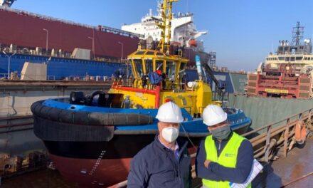 SAAM Towage recibe en Turquía nuevo remolcador para sus operaciones en Ecuador