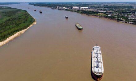 Argentina: 170 buques continúan esperando carga en los puertos por extensión de paro de aceiteros de soja