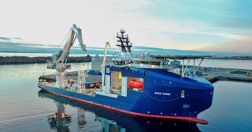 Boskalis aumenta su flota eólica marina con Boka Tiamat