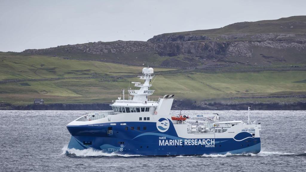 Bureau Veritas otorga la clasificación al buque de investigación de las Islas Feroe