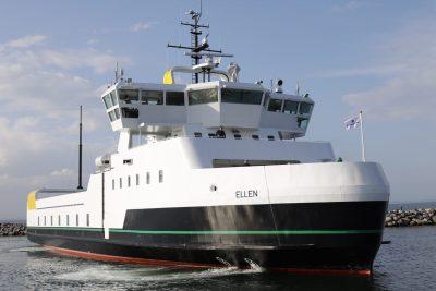 E-ferry Ellen gana el premio European Solar Prize 2020