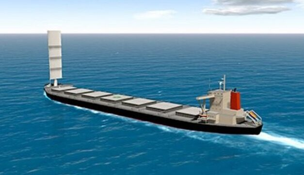 Proyecto une la propulsión eólica y la generación de hidrógeno para crear combustible