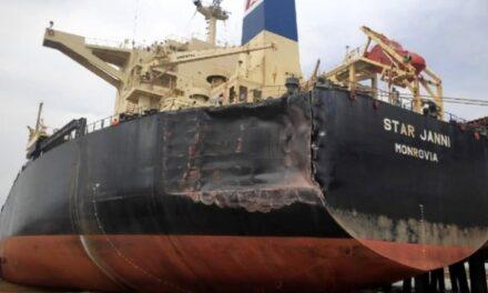 Tres buques hacen contacto en un accidente en terminal brasileña