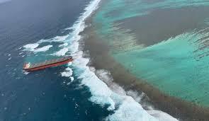 El derrame de petróleo en Mauricio ocurrió cuando la tripulación del barco se desvió en busca de una señal telefónica – Informe