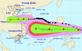 Vietnam: Un buque queda atrapado en un tormenta tropical, dejando 1 muerto y 4 heridos