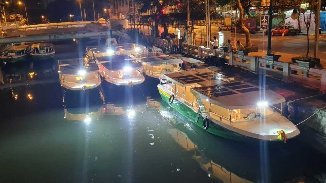 Tailandia: Innovadora flota de ferries eléctricos entra en servicio