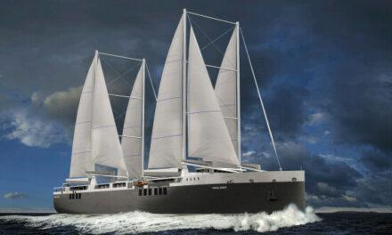 Jas Hennessy & Co escoge como solución un barco de carga a vela de Neoline