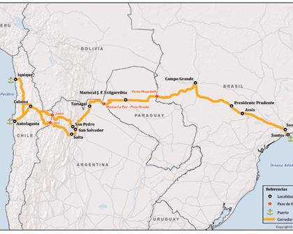 Paraguay: Corredor Vial Bioceánico lleva 64% de avance general