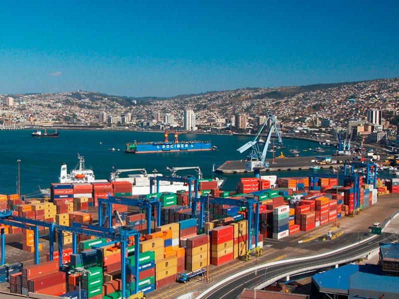 Chile: Puertos de la región de Valparaíso movilizan 187.173 TEUs en noviembre de 2020