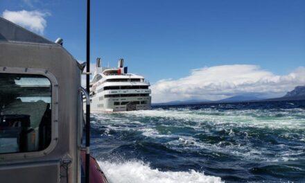 Ponant demanda al Estado de Chile por accidente del crucero «Le Soleal» en paso Kirke el 2018